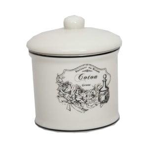 Ceramiczny pojemnik na patyczki kosmetyczne Antic Line Coton