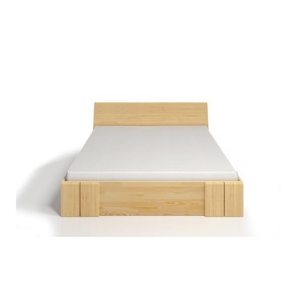Łóżko 2-osobowe z drewna sosnowego z szufladą SKANDICA Vestre Maxi, 160x200 cm
