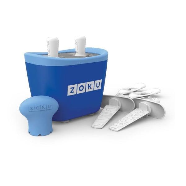 Niebieska maszynka do lodów Zoku Duo