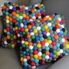Ręcznie wykonana kulkowa poduszka Happy Pills