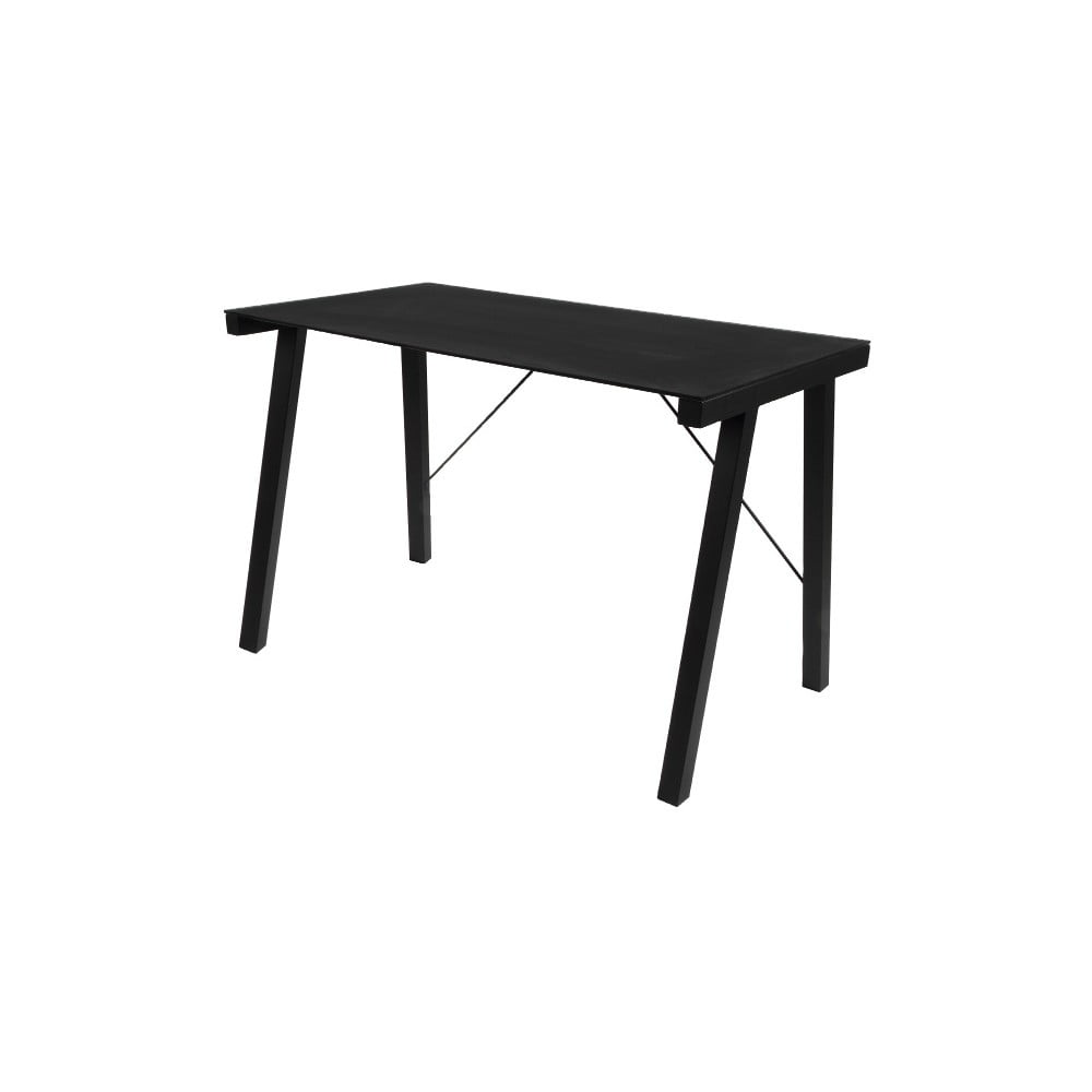 Czarne biurko Actona Typhoon