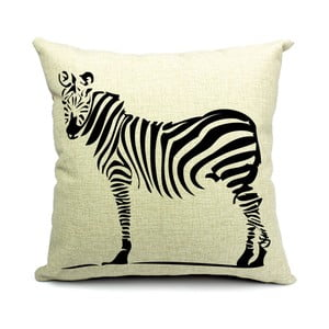 Poszewka na puduszkę Dear Zebra, 45x45 cm