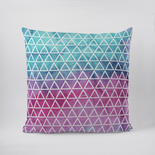Poduszka Rainbow Triangle