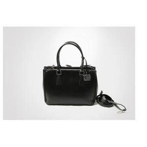 Skórzana torebka Lily, black