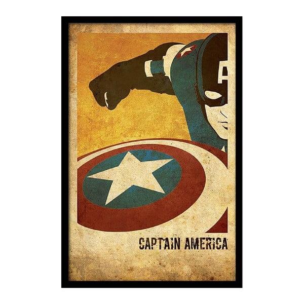 Plakat Captain America, 35x30 cm