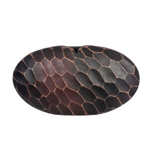 Wazon Egg Maya Brown, 50x11x28 cm