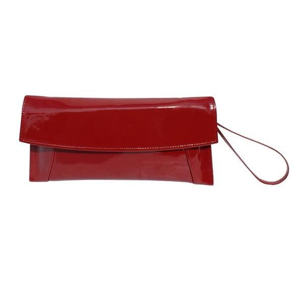 Skórzana kopertówka Boscollo Red 2269
