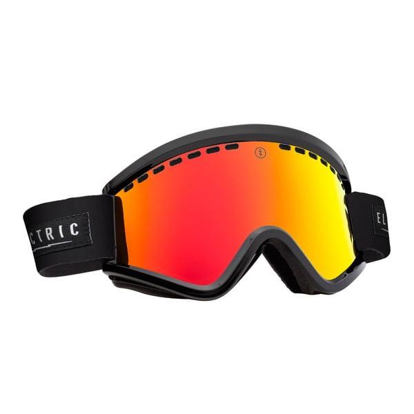 Gogle narciarskie Electric EGV Black Red z powłoką przeciwmgielną