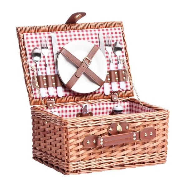 Kosz piknikowy (zestaw na 2 osoby) Basketis