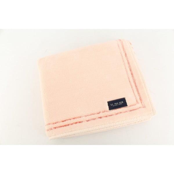 Różowy dywanik łazienkowy U.S. Polo Assn. Helena, 60x100 cm