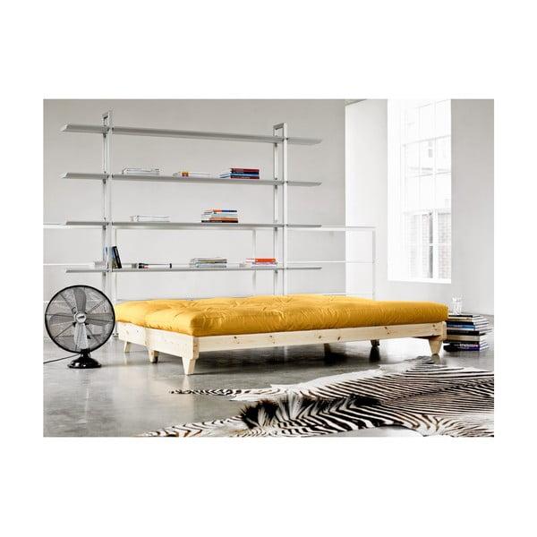 Sofa rozkładana Karup Fresh Raw/Amarillo