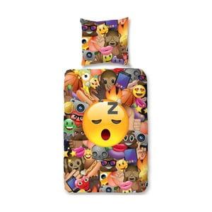 Dziecięca pościel jednoosobowa z czystej bawełny Muller Textiels Laugh, 135x200 cm