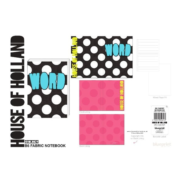 Notes   Blueprint Collections Word A6