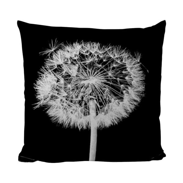 Poduszka Black Shake Dandelion, 50x50 cm