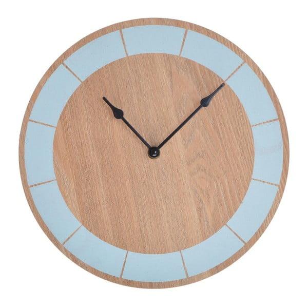 Zegar drewniany Ewax Blue, 30 cm