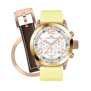 Zegarek damski Marc Coblen z dodatkowym paskiem i obręczą P92