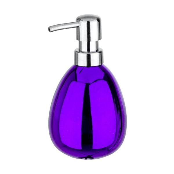 Dozownik do mydła Purple Metallic