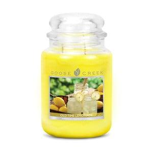 Świeczka zapachowa Goose Creek Tradycyjna lemoniada, 150 godz. Palenia