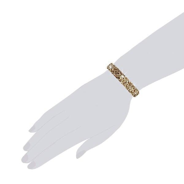 Bransoletka Golden, 19 cm