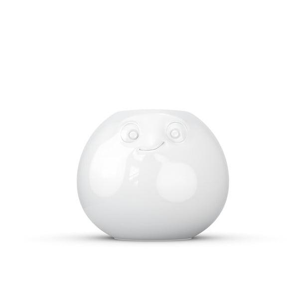 Biały zrelaksowany wazon z porcelany 58products