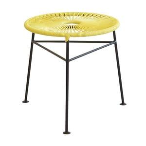 Stołek/stolik Centro Yellow