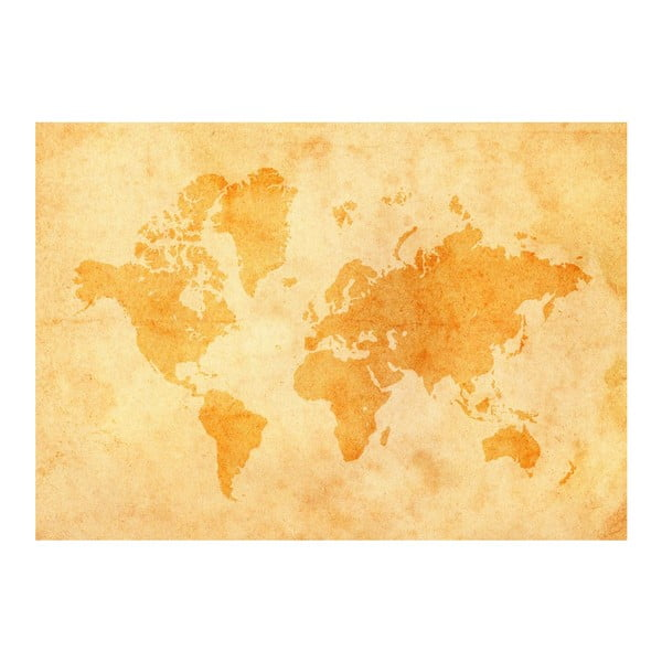 Fototapeta Vintage World Map, 400x280 cm