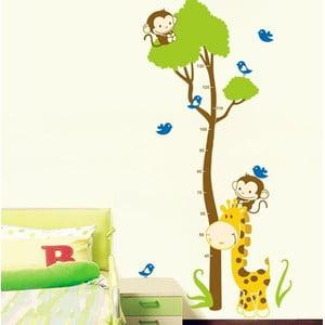 Naklejka Ambiance Tree And Monkey