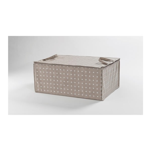 Beżowy organizer Compactor Dots, 50x70 cm