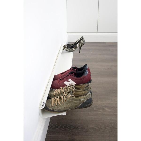 Półka na buty J-ME Shoe Rack biała, 120 cm