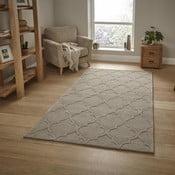 Beżowy dywan Think Rugs Hong Kong , 150x230 cm