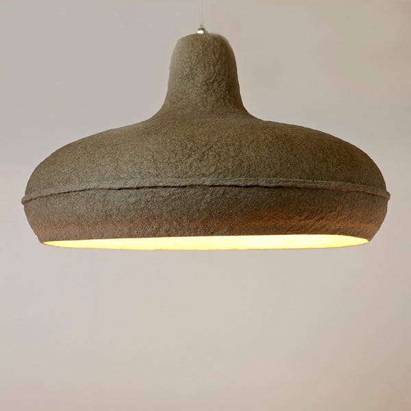 Lampa sufitowa Paperpulp, 40x25 cm