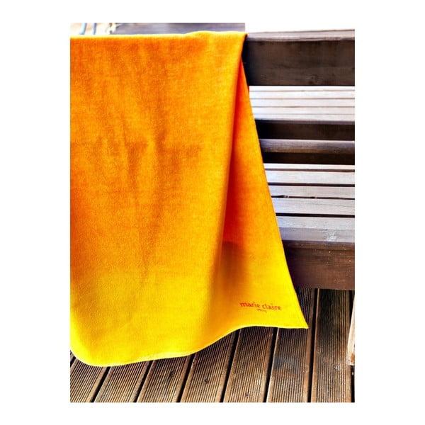 Ręcznik Orange Ombre, 75x150 cm