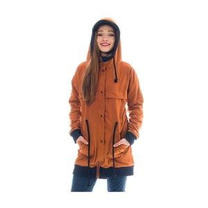 Pomarańczowoczerwona bluza Lull Loungewear Bahia Feliz, rozm.S