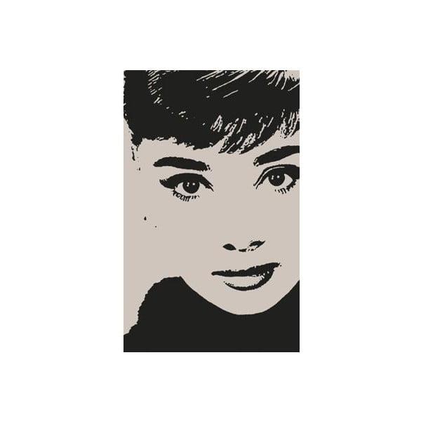 Fotoobraz Stencil Audrey, 51x81 cm