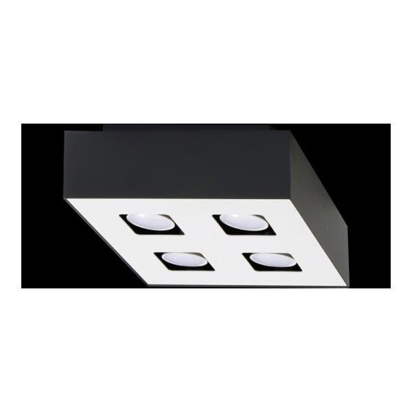 Czarna lampa sufitowa Nice Lamps Hydra 4