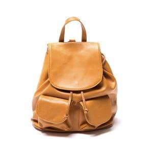 Plecak skórzany Isabella Rhea 2127 Cognac