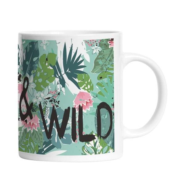 Ceramiczny kubek Free and Wild, 330 ml
