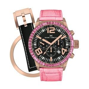 Zegarek damski Marc Coblen z dodatkowym paskiem i obręczą P28
