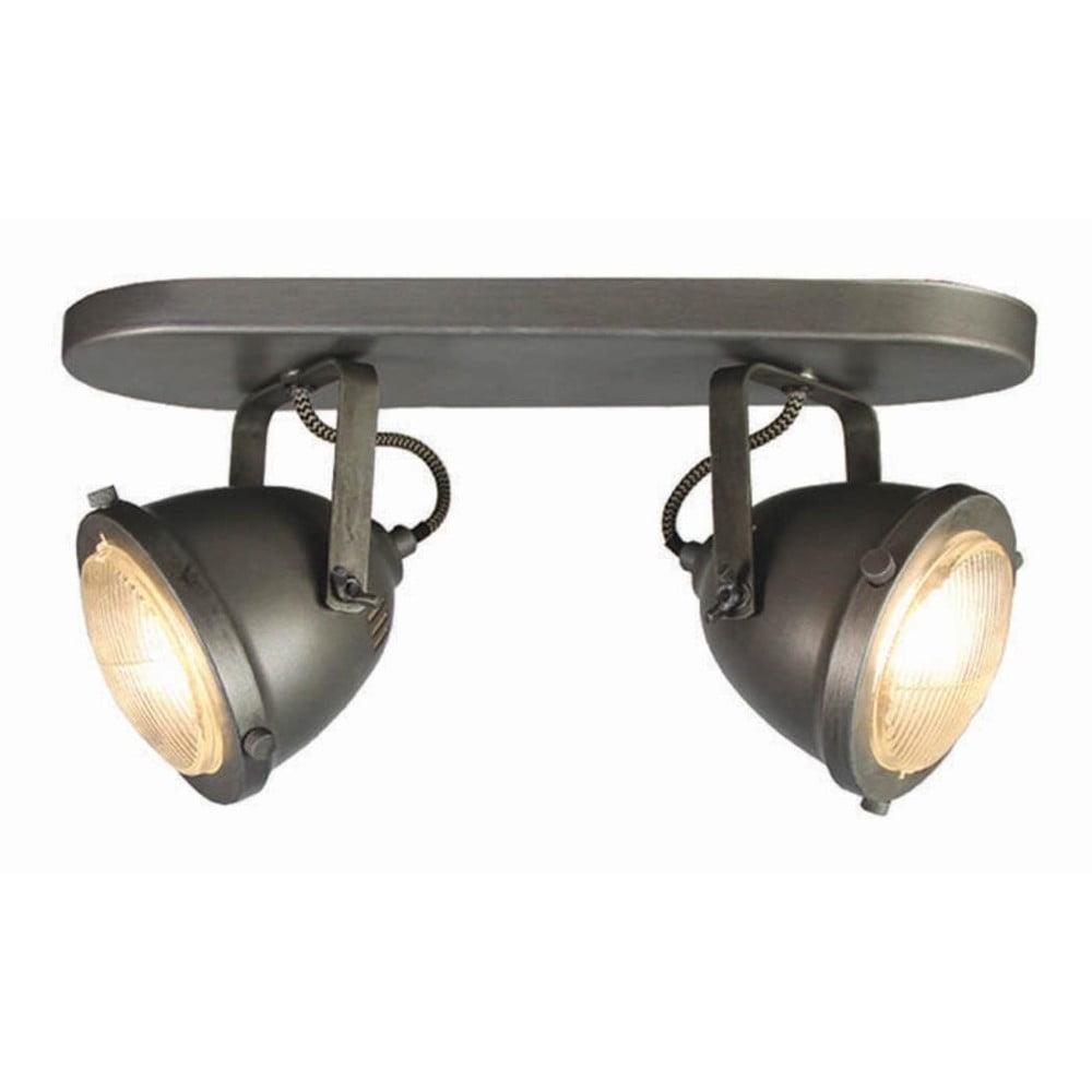 Szara lampa sufitowa LABEL51 Spot Moto Dos