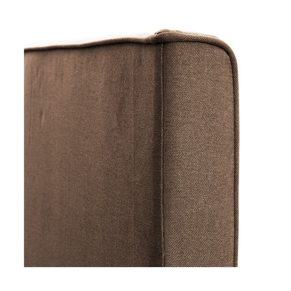 Jasnobrązowe łóżko z naturalnymi nóżkami Vivonita Kent, 180x200 cm