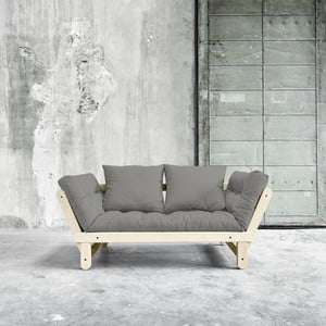 Sofa rozkładana Beat Natural/Granite Grey