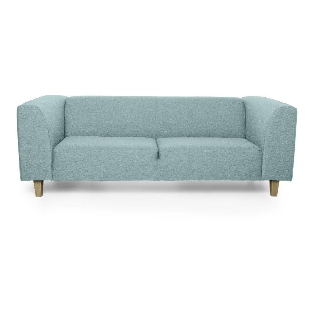 Miętowa sofa 3-osobowa Softnord Diva