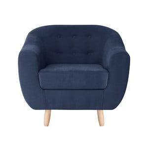 Granatowy fotel Jalouse Maison Vicky