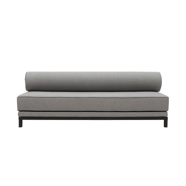 Szara sofa rozkładana Softline Sleep