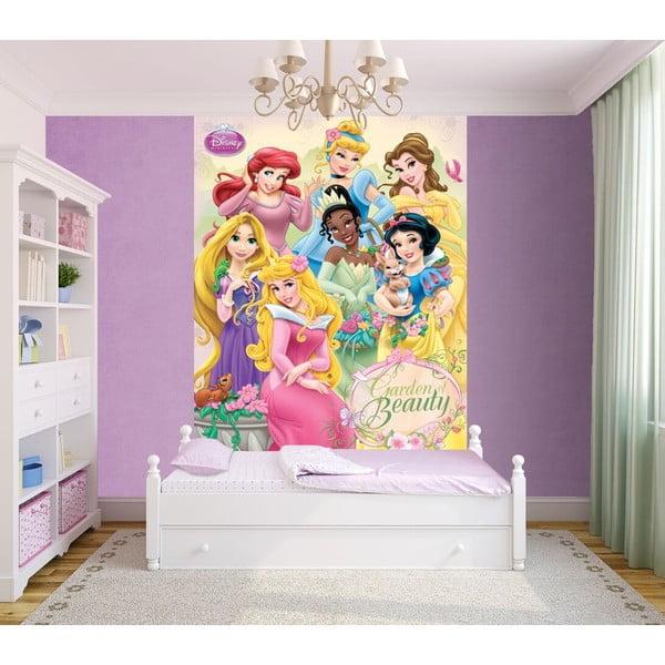 Tapeta wielkoformatowa Księżniczki Disneya, 158x232 cm