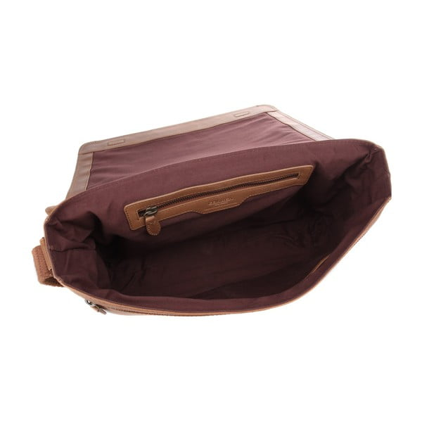 Skórzana torba Croft Chestnut
