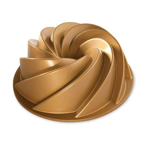 Forma do babki w złotym kolorze Nordic Ware Rondo Heritage, 2,4 l