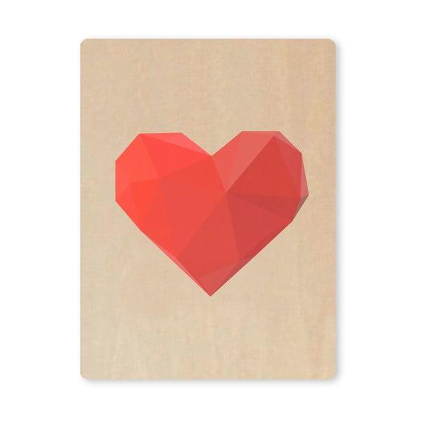Obraz Artboard Heart, A7