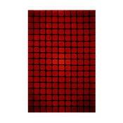 Dywan Casablanca Square 140x200 cm, czerwony
