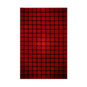Dywan Casablanca Square 70x140 cm, czerwony